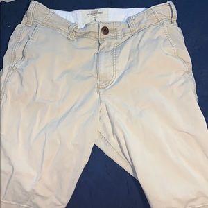 New hollister Cali longboard khaki shorts size 28